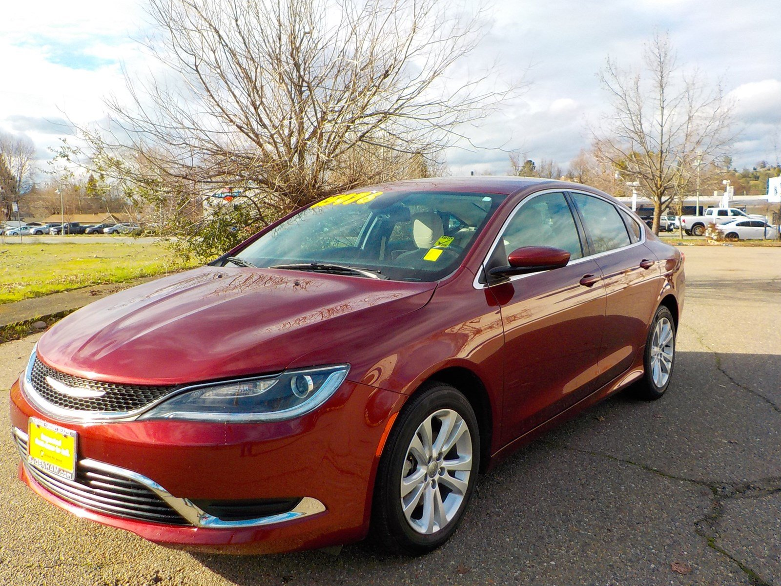 Certified Pre-Owned 2017 Chrysler 200 Limited Platinum