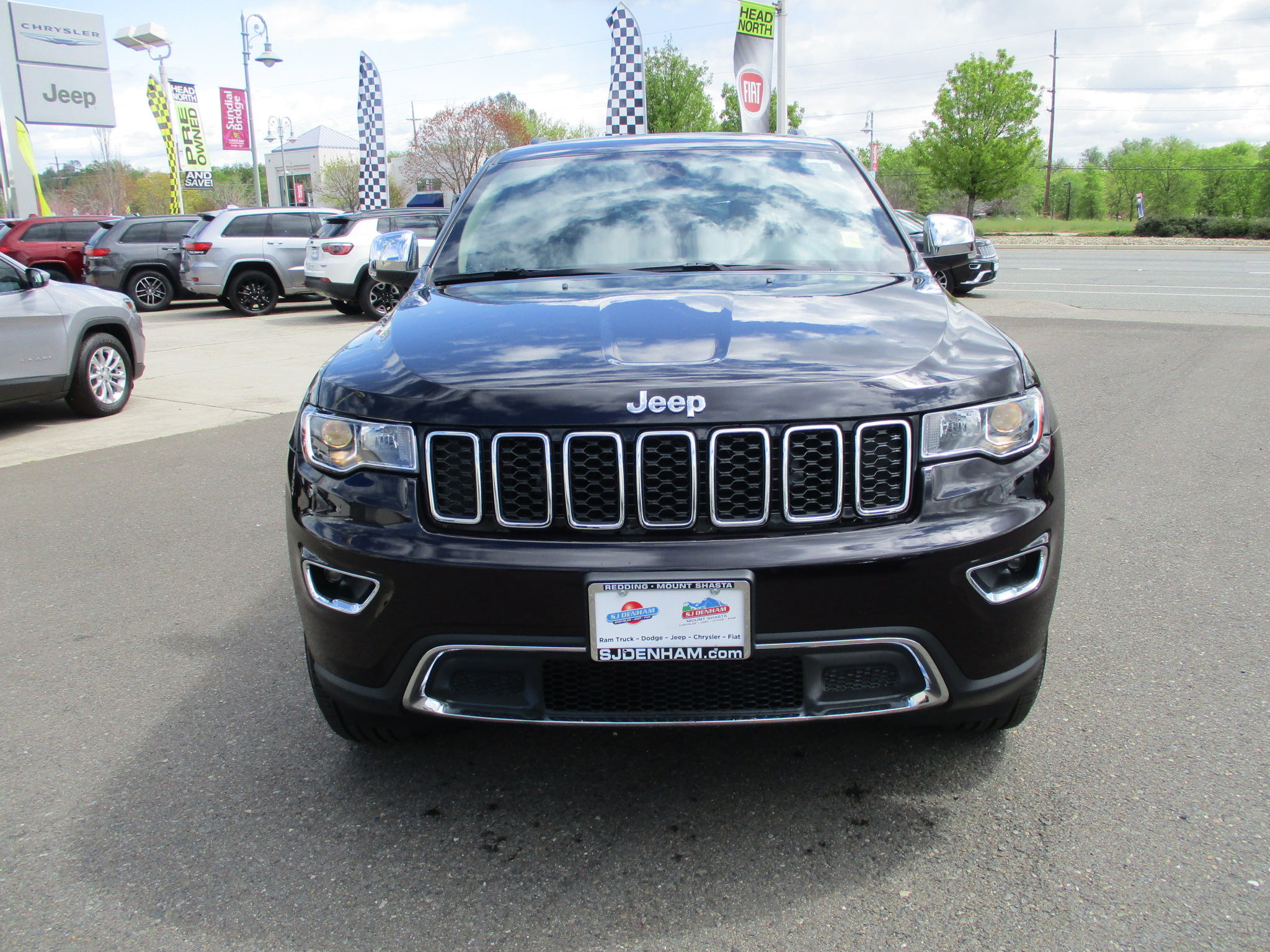 New 2018 Jeep Grand Cherokee Limited Sport Utility In Redding 2011 Four Pin Trailer Towing Connector