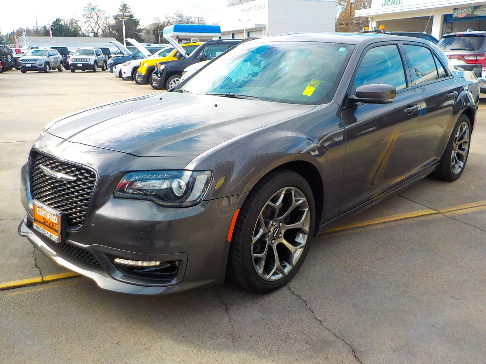 Certified Pre Owned 2018 Chrysler 300 300s 4dr Car In