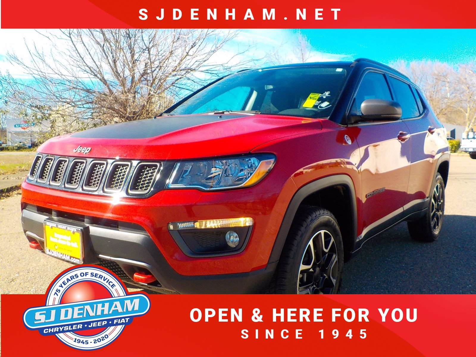 Certified Pre-Owned 2020 Jeep Compass Trailhawk
